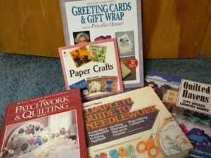 Sewing and Paper-Craft Books - $10 (Wolf Creek)