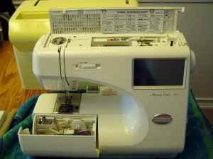 Sewing embroidery machine janome memory craft 9000 for Janome memory craft 9000 problems