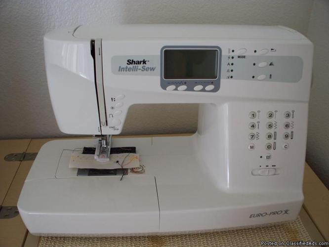 Sewing Machine Euro Pro 40 Classifieds Buy Sell Sewing Machine Magnificent Euro Pro 9120 Sewing Machine