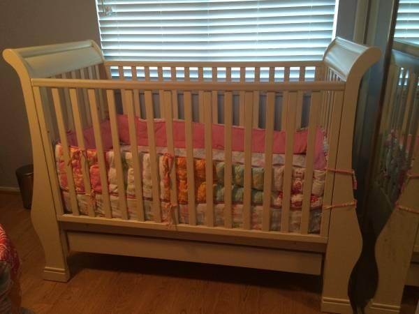 Shabby Chic Pali Crib Plus Extras For Sale In Irvine