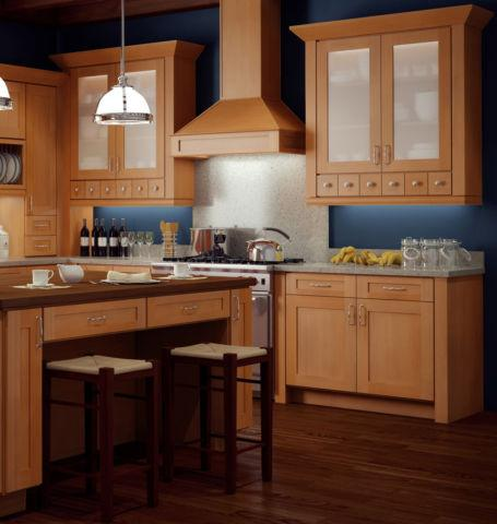 shaker kitchen cabinets All wood 5 year warranty