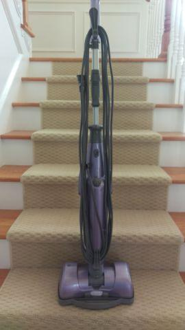 Shark Vac-Then-Steam MV2010 - Purple - Upright Cleaner