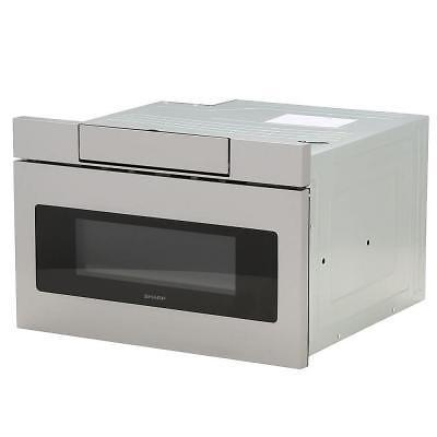 Sharp Built In 24 Quot Microwave Drawer In Stainless Steel