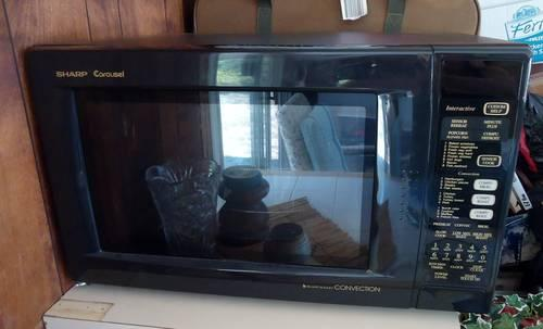 Sharp Countertop Convection Oven Microwave Used Twice For