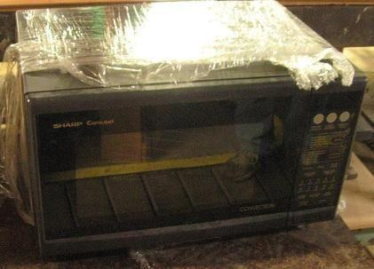 Sharp Model R 7a85 Carousel Convection Microwave Oven For