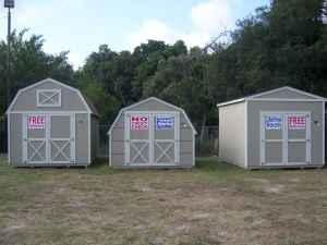 SHEDS**BARNS**RENT TO OWN **NO CREDIT OK (MULBRRY/HWY60 ...