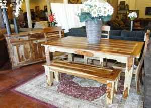 Sheesham Wood Dining Table And Chairs Divine Home