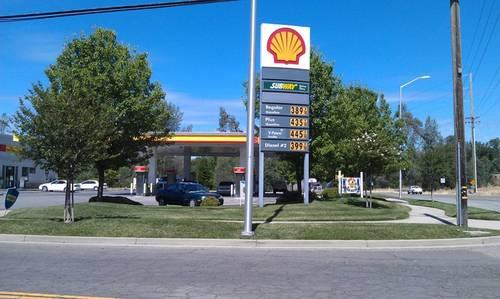 shell gas card check balance