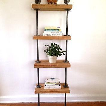 Shelves table desk all made locally from reclaimed wood for Barnwood shelves for sale