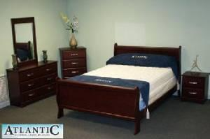 Shiloh Cherry Sleigh Bed Collection IN STOCK TODAY CALL 864-963-5436 - $525 Anderson, Central, Greenwood, Hartwell