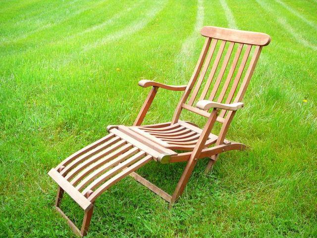 SHIPS TEAK DECK CHAIRS