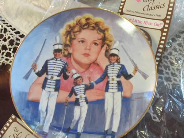 Shirley Temple Collectors Plates - $20