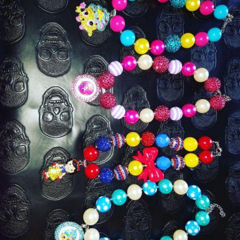 shopkins handmade necklaces