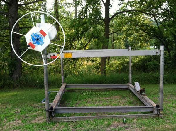 Shore station boat lift 2 600 cap for sale in for Boat lift motors for sale