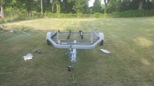 shorelander 2 place jet ski trailer - $700