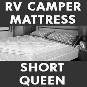 Short Queen Mattress For Rv Motor Home Local Factory
