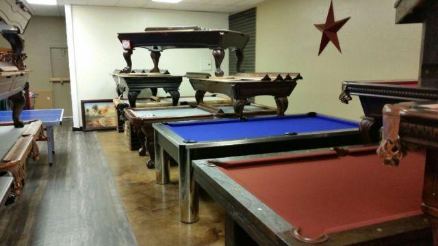 Showroom Out All Floor Model Pool Tables On