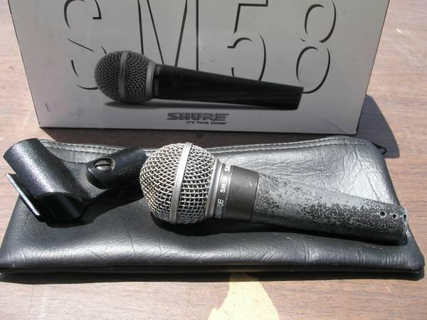 shure microphones for sale in weirsdale florida classified. Black Bedroom Furniture Sets. Home Design Ideas