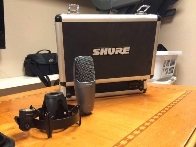 shure pg42 condenser microphone for sale in aurora illinois classified. Black Bedroom Furniture Sets. Home Design Ideas