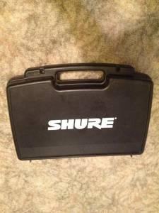 SHURE SM58 microphone - $260 Waterloo