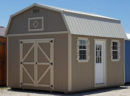 Side lofted cottage, 12x16 Storage Shed, Sheds