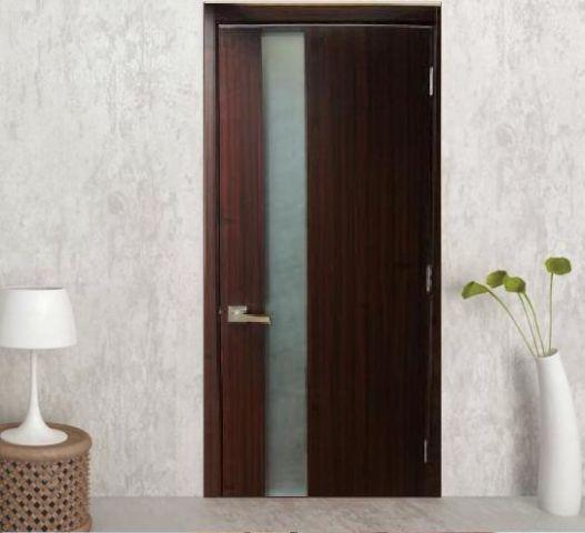 Siena Contemporary Interior Door Mahogany Finish Clearance Price
