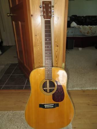 sigma dr 28 dreadnaught acoustic guitar for sale in whitefish montana classified. Black Bedroom Furniture Sets. Home Design Ideas