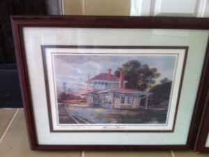 SIGNED, FRAMED MICHAEL SLOAN LANDSCAPE PRINTS! - $45