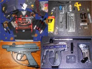 Silver Angel IR3 Paintball Gun  Extras - $250 North Corvallis