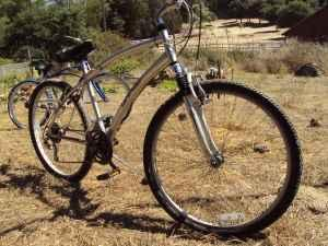 Silver Landrider AutoMatic Shift Bicycle - $225
