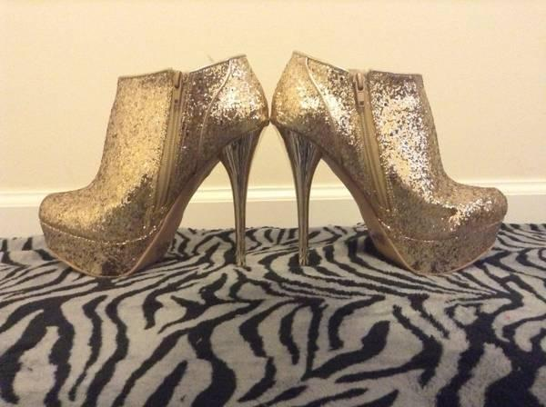 0c23d736381 Silver Sparkle Charlotte Russe Shoes - for Sale in Brownsville ...