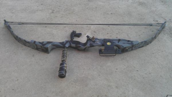 silverhawk xp compound bow - $75 (Toledo, OH)