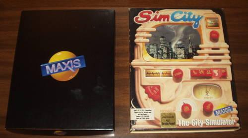 SimCity -- Original 1989 PC Classic - ALL Literature +