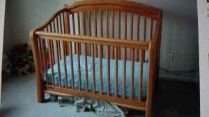 Simmons Crib N More Convertible Crib Toddler Bed Full