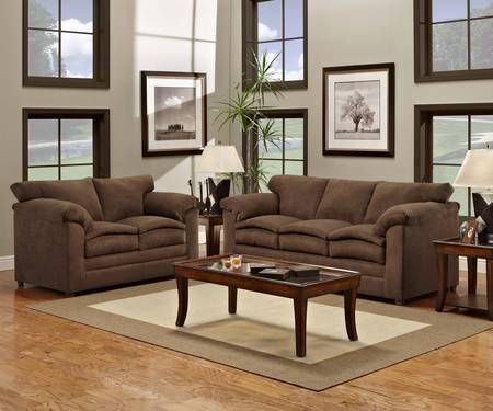 Simmons Sofa Amp Loveseat Set In 2 Colors W Manuf Warranty For Sale In Wilmington
