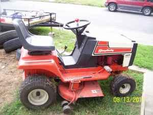 Simplicity 4211 Riding Mower Trades Burlington For