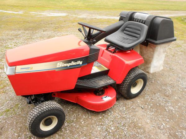 simplicity lawn tractor wiring diagram images simplicity broadmore lawn tractor 1600 flushing like new reduced loook