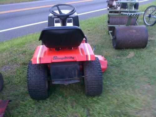 Simpcity Tractor Spare Parts For Sale In Pennsylvania Classifieds