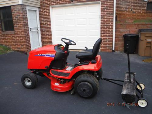 Simplicity Mower or Trade for Pull Behind M/C Trailer for