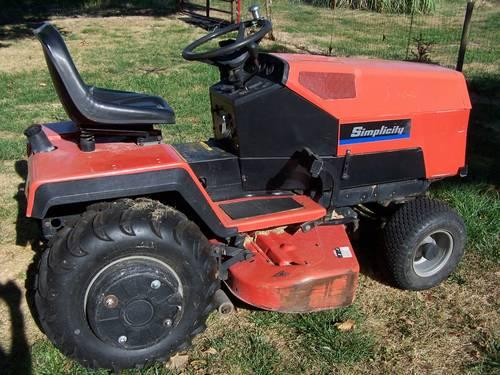 simplicity sunstar garden tractor Classifieds - Buy & Sell ...