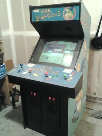 Simpsons Arcade Machine - $500