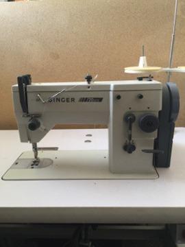 Singer 20U73 Industrial Sewing Machine with Motor
