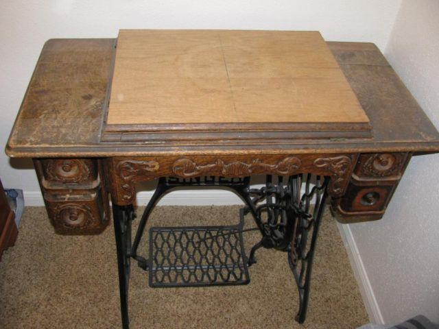 antique singer sewing machine serial number