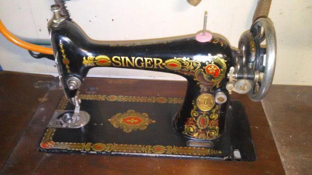 SingerSewingMachineTreadleType 40 Model 40 Working Order For Impressive 1923 Singer Sewing Machine