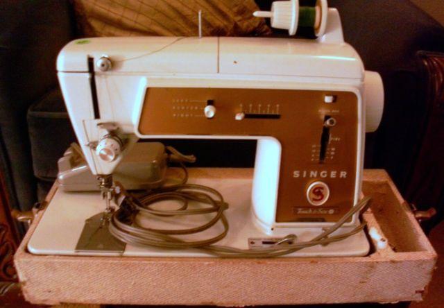 singer sewing machine 603