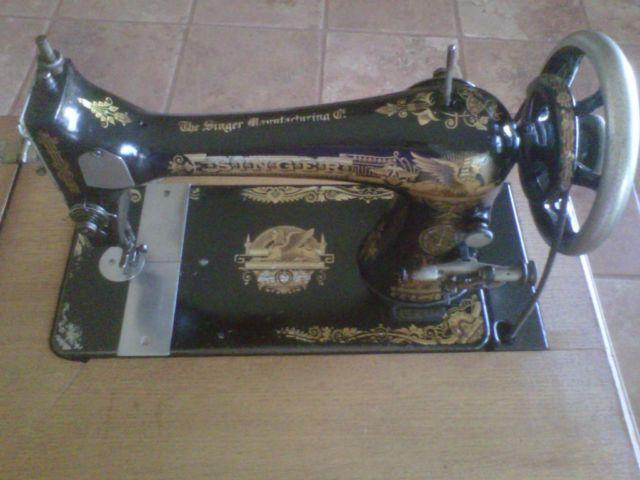 Singer Treadle Sewing Machine Classifieds Buy Sell Singer Enchanting 1902 Singer Treadle Sewing Machine