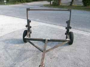 SINGLE AXLE CABLE REEL TRAILER - $695 (BRADENTON)