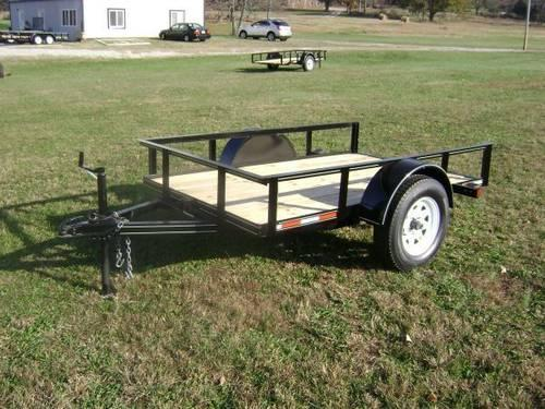 Single-axle Utility Trailers