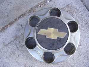 Single chevy center cap - $30 Minden NE