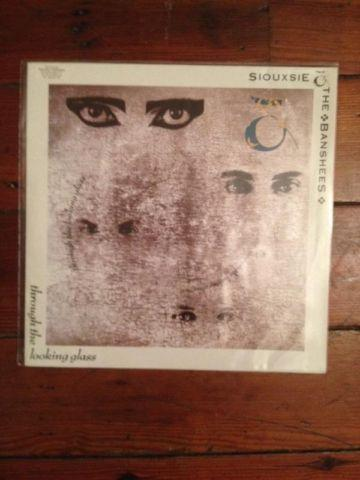 Siouxsie and The Banshees Vinyl Through the looking